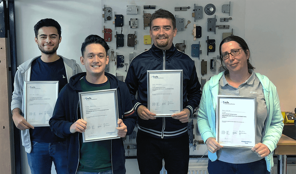 keytek locksmith certification