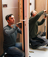 locksmith training working on doors