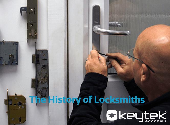 history of locksmiths