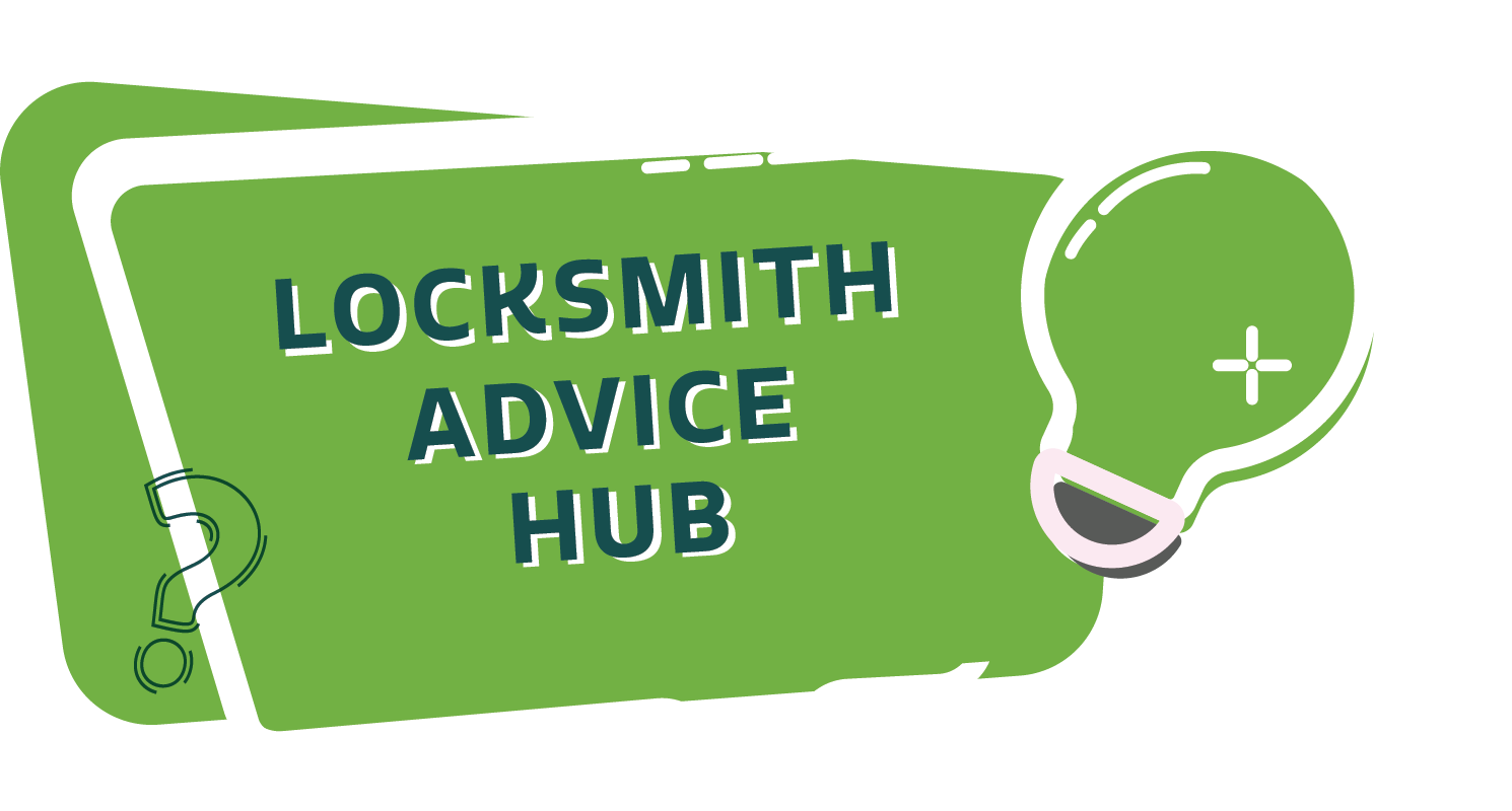 locksmith advice hub speech bubble light bulb